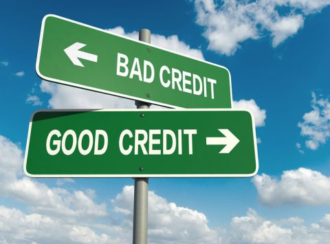 Go from a bad credit rating to a better one