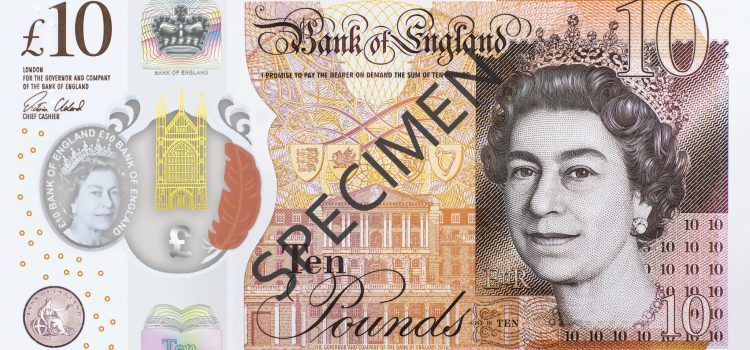 The new plastic tenner
