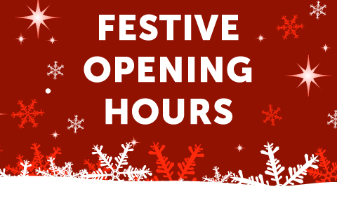Harrington Brooks Christmas opening hours