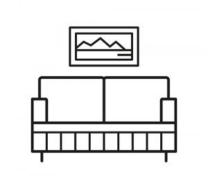Living room logo