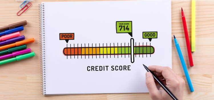 You can start to improve your credit score after debt