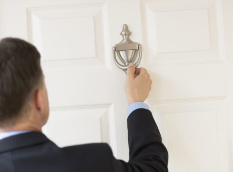 Can the bailiffs enter your house without permission?